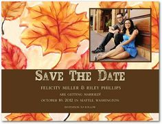 Option #1 for our Save the dates. Love this one because of the Pic option.