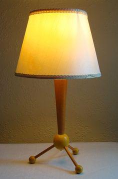 Vintage Atomic Lamp