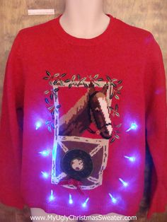 'Tis The Season For The 25 Ugliest Equestrian Christmas Sweater  http://www.counter-canterculture.com/2013/12/16/tis-the-season-for-the-25-ugliest-equestrian-christmas-sweaters/