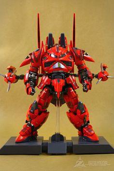 Fuck Yeah! Japanese Robots! // ani-plamo: MG 1/100 Z'Gok Messer by snglemdia