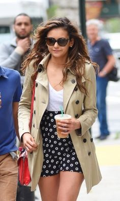 Nina Dobrev New York 2014