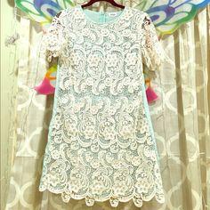Hptobi Lace, Teal Dress