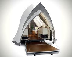 Luxury camper trailer lets you camp in suite-like comfort