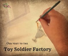 Our Visit to the Toy Soldier Factory