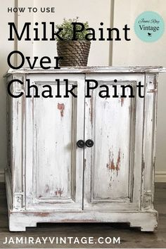 How to Paint White Furniture | YouTube Video