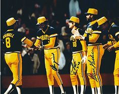 Autographed Omar Moreno, Dave Parker & Tim Foli Pittsburgh Pirates Photo for Like the Autographed Omar Moreno, Dave Parker & Tim Foli Pittsburgh Pirates Photo? Pittsburgh Pirates Baseball, Pro Baseball, Pittsburgh Sports, Pittsburgh Penguins, Baseball Players, Hockey, 1979 World Series, Pirate Photo, Angels Baseball