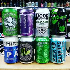 More and more UK IPA cans in stock!