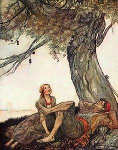 Les illustrations d'Arthur Rackham - Londres calling
