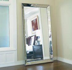 Secretscali: Mirrors - Venetian Beaded Leaner Mirror - Floor Mirror  Restoration Hardware