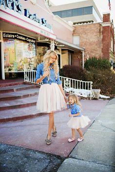 Anne kız tütü etek. #tulle Skirt www.tutumodelleri.com da.  How Cute is this