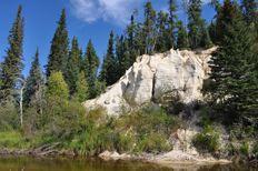 Nipekamew Sand Cliffs - Tourism Saskatchewan