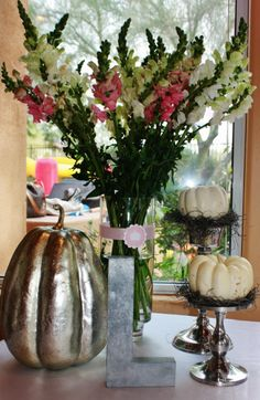 White Pumpkin Cinderella Party