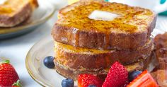 Aromatic, firm-yet-tender French toast made from rich brioche.