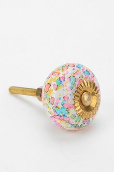 glass confetti knob urban outfitters closet door knob