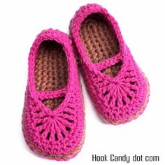 Mary Jane Slippers  I made these for my girls and they loved them!!