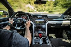 The First Drive: 2019 Lamborghini Urus #Ferrari