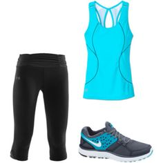 oohh! i love this workout outfit! I just made it on polyvore!