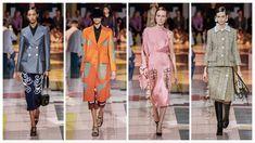 Prada Ready to Wear – Spring 2020 - Glam News Magazine Prada, News Magazines, Wes Anderson, Nicole Kidman, Duster Coat, Ready To Wear, Kimono Top, Spring, How To Wear