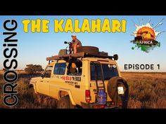 A My Life in Africa adventure through the Kalahari which highlights exactly how tough and remote the Kalahari can be. For many crossing the Kalahari is a buc. Bape, Remote, Monster Trucks, My Life, Africa, Adventure, Youtube, Adventure Movies, Adventure Books