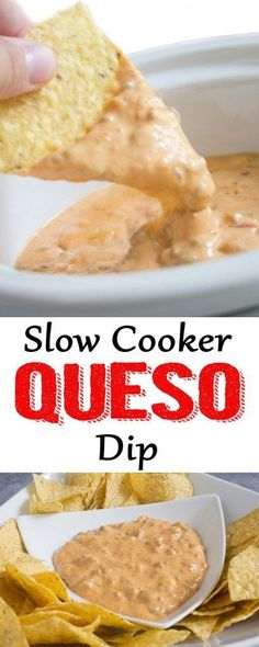 crockpot appetizers Warning: This queso dip is addicting! If you're looking for an appetizer that is easy and a huge crowd pleaser, you've found it! Slow Cooker Dips, Slow Cooker Recipes, Crockpot Recipes, Cooking Recipes, Nacho Sauce Recipe, Sauce Recipes, Yummy Recipes, Nacho Recipes, Recipies