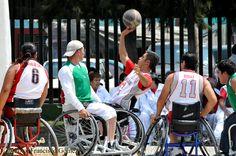 Nezahualcóyotl, Méx. 28 Abril 2013. El próximo Torneo del Cincuentenario a nivel Amateur considera acercar a todas las personas que tienen discapacidad, niños, jóvenes y adultos de ambos sexos, a esta especialidad del básquetbol adaptado, donde el deportista juega con silla de ruedas especiales.
