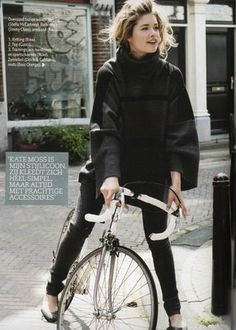 A cycling cape is a good all-weather choice for city cycling -- on its own or over a sweater or jacket.