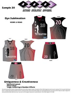310b0d63dc6 Racer back for the Ladies utilizing large logos on Home and Road uniforms.  Stacey Martin · Sublimation Uniform for Basketball