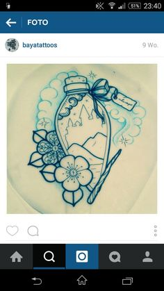 Harry Potter Felix Felicis tattoo idea