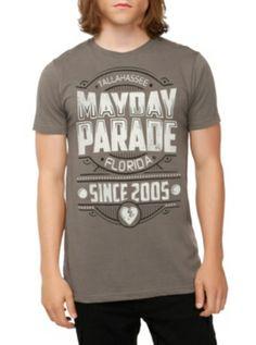 Mayday Parade Logo Slim-Fit T-Shirt