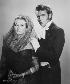 Capucine and Dirk Bogarde I adored the film 'Song without end'