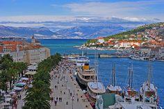 The town of Trogir Croatia
