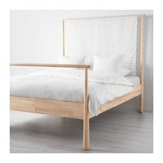 Check out our extensive range of double beds and king size beds. At IKEA, browse online or shop in-store to find inspiration, solutions and ideas for your home. Ikea Bedroom, Bedroom Bed, Bedroom Furniture, Bedroom Decor, Ikea Bed Frames, Cama Ikea, Bed Slats, Adjustable Beds, Luxurious Bedrooms