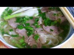 ▶ PHO BO - Vietnamese Beef Noodle Soup Recipe - YouTube