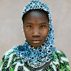 A young Fulani girl from Southeast Niger, Jeremy Snell