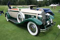 1931 Packard Warehouse Convertible Victoria