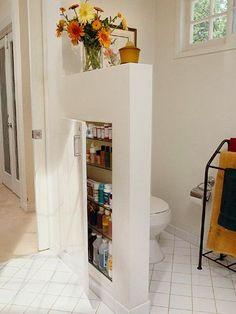 Hidden stoccaggio bagno: