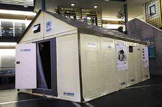 UN Refugees, IKEA Prefab shelter, flatpack refugee homes, IKEA refugee homes, Lebanon, Syrian refugees, solar powered refugee homes