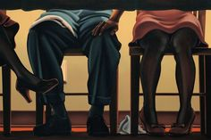 "Kenton Nelson, The Dinner Party ""If you are to be a gentleman, As I suppose you'll be, You'll neither laugh nor smile, For the tickling of the knee."" – English Nursery Rhyme"