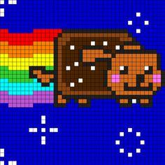 Nyan Cat Tacos Art Craft