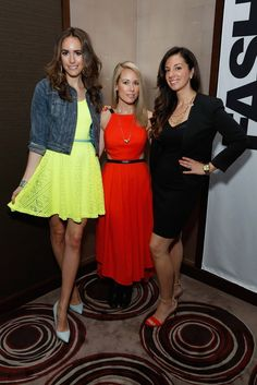 Louise Roe, Hunter Bell and Erika De Salvatore. [Courtesy Photo]