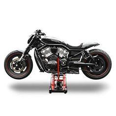 Motorcycle lift ConStands Mid-Lift L black-red for Harley Davidson  Sportster 883/ Custom (XL 883 C)/(XL 883), Sportster 883 Hugger (XLH 883),  Sportster 883 ...