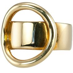 Cartier Dinh Van Gold Abstract Ring   From a unique collection of vintage fashion rings at https://www.1stdibs.com/jewelry/rings/fashion-rings/