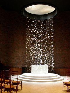 Eero Saarinen, MIT Chapel. Visited it in 2009, so beautiful
