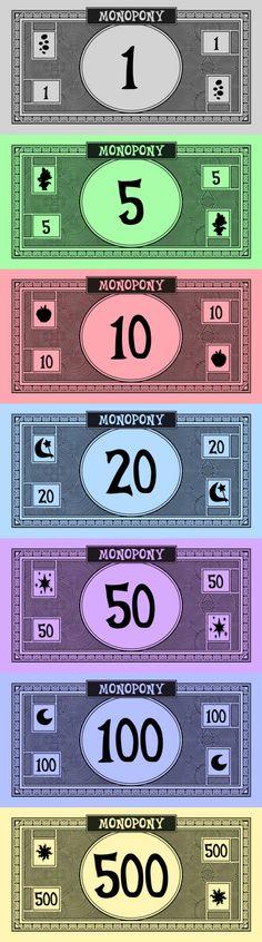 Attractive Printable Monopoly Money Template Elaboration - Example ...