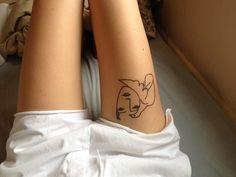 picasso tattoo lazybonesillustrations