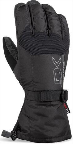 326b5f328 Dakine Scout Snowboard/Ski Gloves, S Black Best Gloves, Hand Gloves, Wool