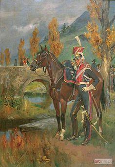 Wojciech KOSSAK ● Szwoleżer gwardii polskiej ● Aukcja ● Artinfo.pl