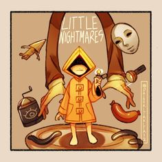"Daisu_kitakita12 on Instagram: ""Little nightmares 1 (5th anniversary the game that started em all) and this is my tribute for it! Been here for years before little…"""