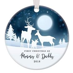 rustic newlyweds christmas ornament 2018 first christmas as mr mrs gift for couple wedding day