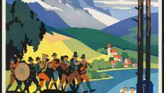Le Tardis dans des affiches touristiques